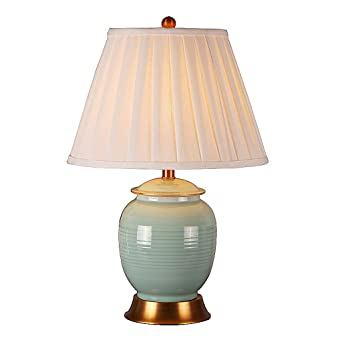 Hyun Times Tischlampe Keramik Kupfer 33 49 Cm Chinesische