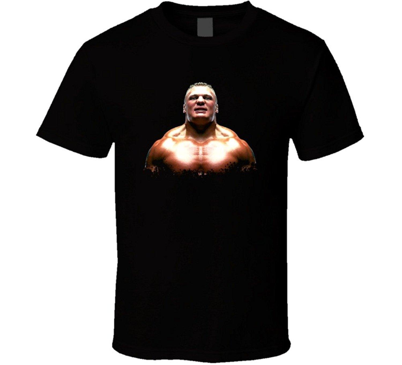 JDhfrk Brock Lesnar MMA Wrestling T Shirt