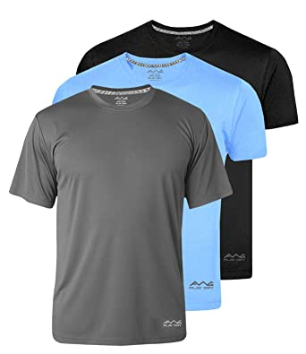 fdd6f603 AWG - All Weather Gear Men's Polyester Dry Fit Round Neck Half Sleeve T- Shirt