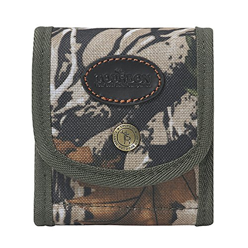 Rifle Cartridge (Tourbon Folding Camo Rifle Cartridge Holder Ammo Wallet Pouch with Elastic Loops)
