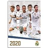 ERIK - Real Madrid 2020 Official A3 Wall Calendar 30 x 42cm