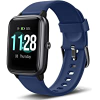 """$35 » Letsfit Smart Watch, Fitness Tracker with Heart Rate Monitor, Activity Tracker with 1.3"""" Touch…"""