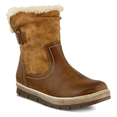 Spring Step Women's Yamma Winter Boot, Medium Brown, 36 EU/5.5-6