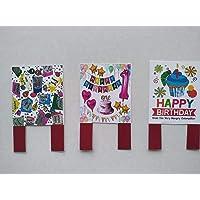 Figuras decorativas de papel para decorar el pastel. Tamaño 6 cm x 4 cm. 3 piezas #3