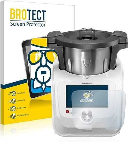 Brotect Pellicola Protettiva Vetro Compatibile Con Silvercrest Monsieur Cuisine Connect Schermo Protezione Estrema Durezza 9h Anti Impronte Amazon It Elettronica