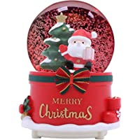 PK 2 HAPPY CHRISTMAS SNOWGLOBE SINGING SNOWMAN TOPPERS FOR CARDS AND CRAFTS