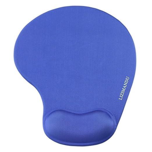 45 opinioni per Mouse Pad rilievo di polso poggiapolso, Lizimandu Mouse Pad- base antiscivolo in