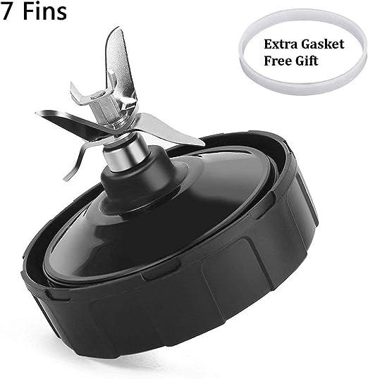 7 Fins Nutri Ninja Blender Cuchilla extractora de repuesto ...