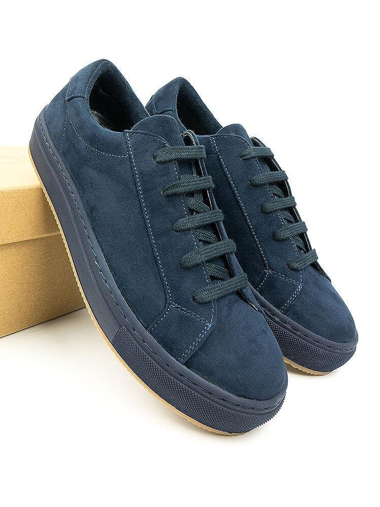 Will's Vegan Schuhes   Herren - Colour Sneakers Navy Blau - Herren 140200