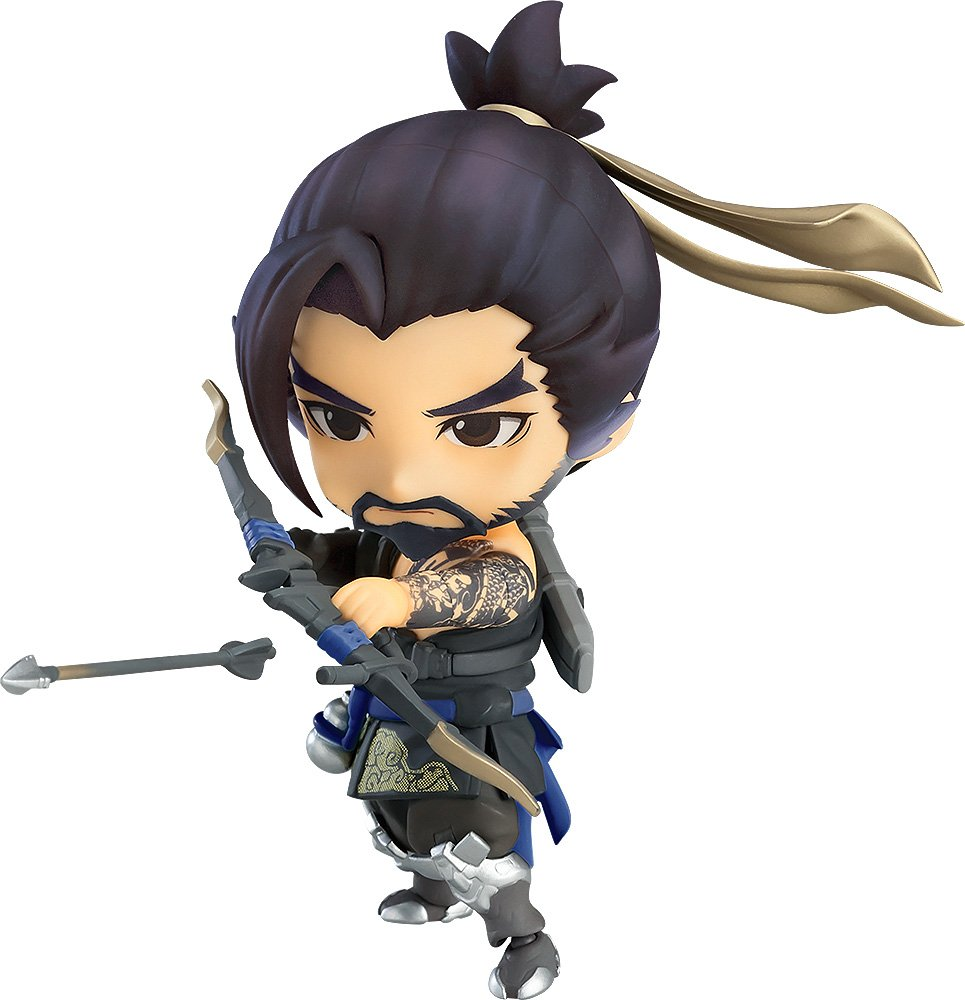 Good Smile SEP178586 Overwatch: Hanzo (Classic Skin Version) Nendoroid Action Figure