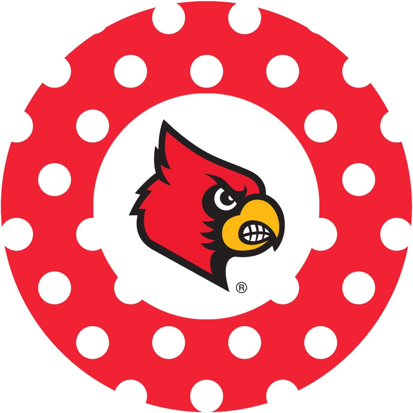 University of Louisville Dots Thirstystone Stoneware Coaster Set