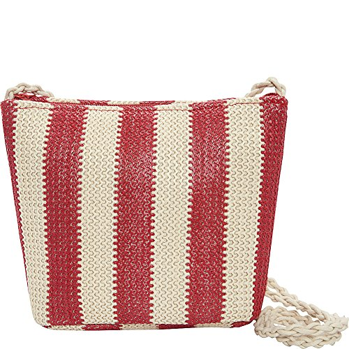 magid-paper-straw-stripe-crossbody-red