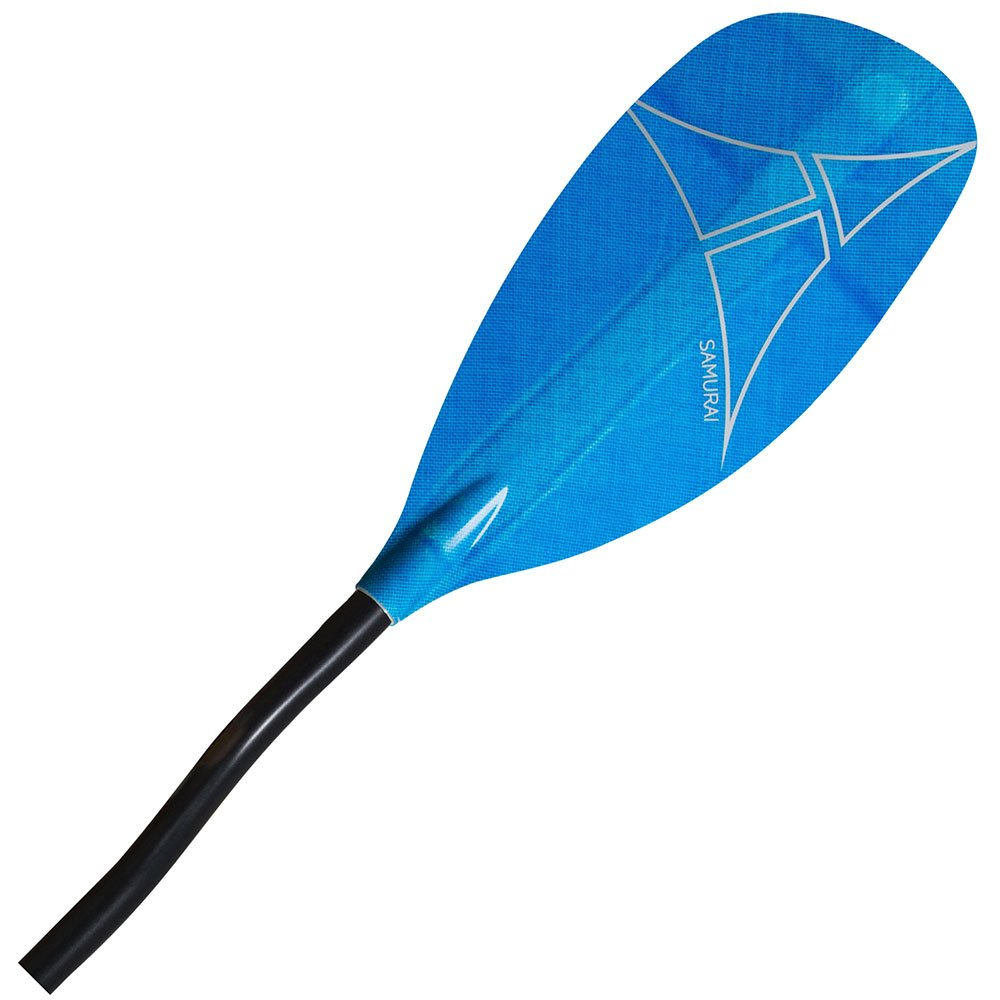 Adventure Technology at Samurai Glass Bent Whitewater Kayak Paddle, 197cm/One Size, Blue