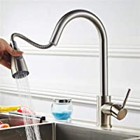 Lovinland All Copper Water Pull Kitchen Faucet