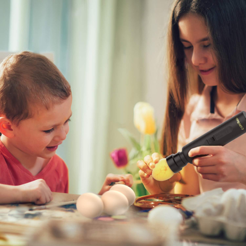 k/ühlem LED-Licht f/ür alle Eiertypen LifeBasis Eierdurchleuchter Kabellose Eierdurchleuchtungs-Lampe Batteriebetriebener kabelloser Eierdurchleuchter Monitor Inkubator Embryo mit hellem