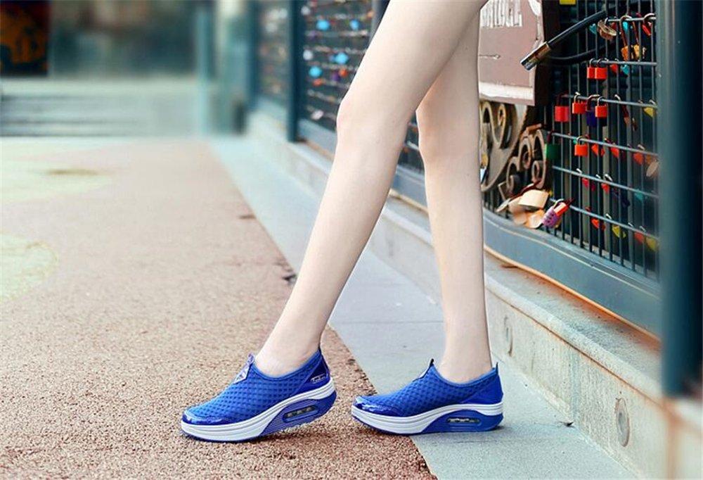 Women's B07DV68ZDZ Breathable Mesh Sandals,Slippers,Beach Footwear,Walking,Anti-Slip B07DV68ZDZ Women's 36/5.5 B(M) US Women|Blue fc249b