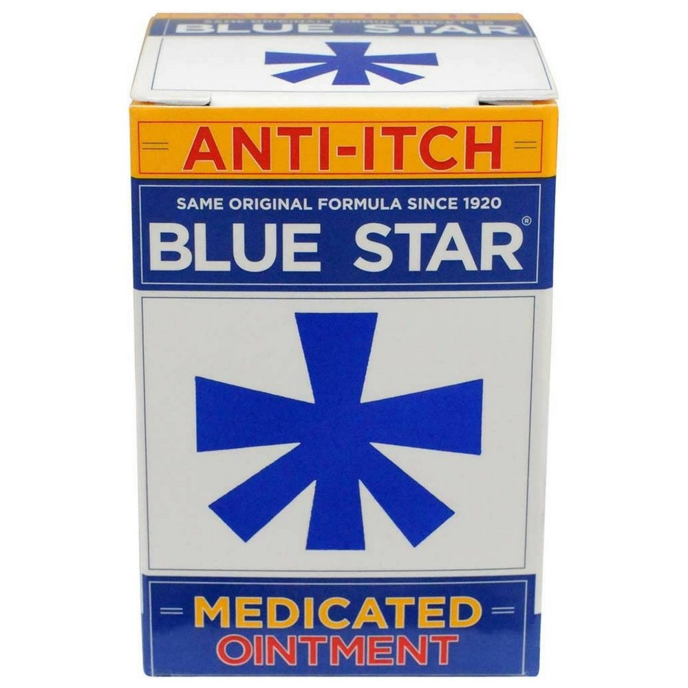 Blue Star Anti-Itch Medicated Ointment 2 oz (Pack of 11)