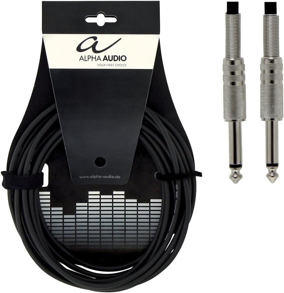 Alpha Audio 190000 - Cable mono para instrumentos