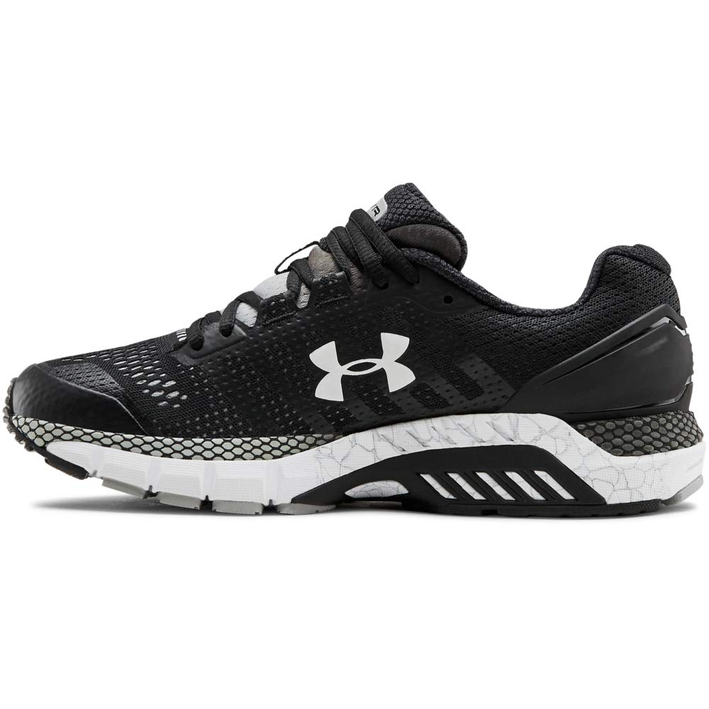 Under Armour Boys' Infant RN6 Sneaker, Black (003)/White, 9 by Under Armour