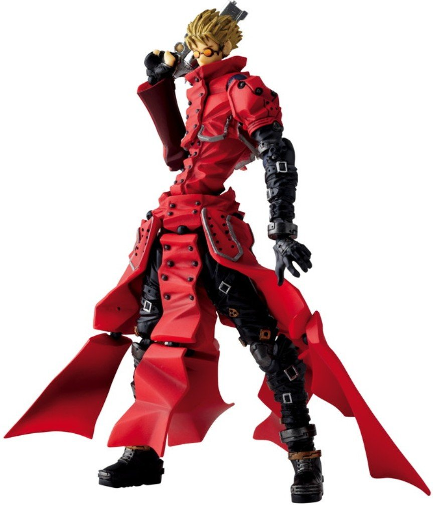 Kaiyodo Jap. Trigun VASH The Stampede Revoltech Action Figure