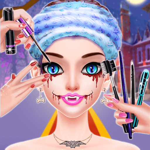 Halloween Princess Makeover Salon - Girls Game - Halloween 2019 Holiday