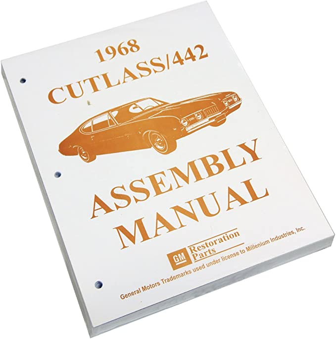 1968 Oldsmobile Cutlass 442 F85 Feature Manual