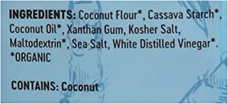 product image for THE REAL COCONUT, TORT CHIP, OG2, SSLT+VINEGR, Pack of 12, Size 5.5 OZ - No Artificial Ingredients Dairy Free Gluten Free GMO Free Kosher Vegan Wheat Free Yeast Free 95%+ Organic