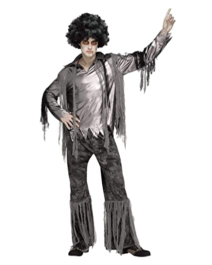 Horror-Shop Disfraz de Zombie Disco Dancer para Hombre One Size ...