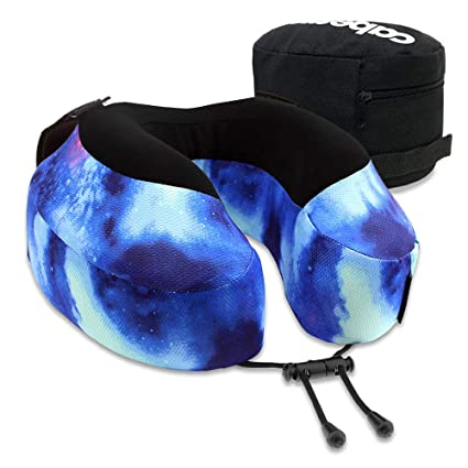 Cabeau Evolution Pillow.Cabeau Evolution S3 Travel Pillow Straps To Airplane Seat Ensures Your Head Won T Fall Forward Relax With Plush Memory Foam Quick Dry Fabric