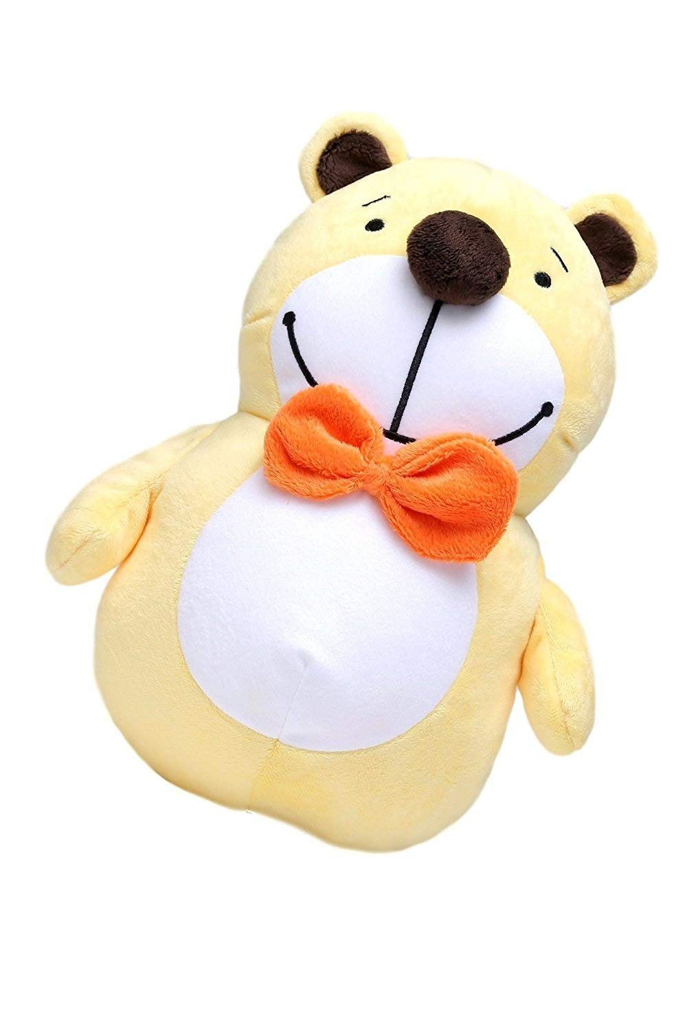 Fun Travel Neck Pillow Changes To Stuffed Animal Toy For Your Child -- Firm Support U-Shape Keeps Head Upright and Comfortable Even on Long Car and Plane Trips. Makes a Great Carry-On or Gift bozemanbabycompany