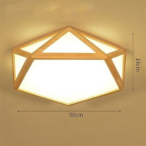 Wmshpeds Geométrica, creativos, Nórdica de madera maciza ...