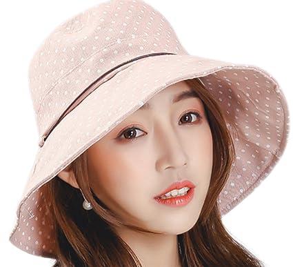 LAAT - Sombreros de algodón para el verano de ala ancha 0f796b99d9d9