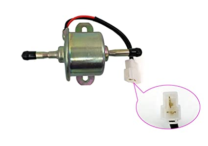 HOOAI New 12V Diesel Electric Fuel Pump For Kubota BX2350 M108 RC601-51352  RC601-51350 R1401-51350 R1401-51352