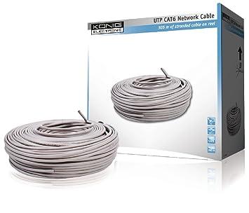 Konig Network Cat6 UTP Stranded Cable 305m Reel [CMP-UTP6R305]