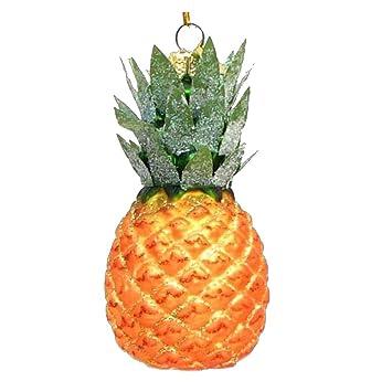 amazoncom kurt adler 35 noble gems glass pineapple ornament home kitchen