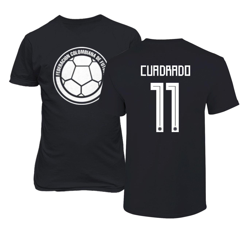 hot sales 8497f b9d78 Amazon.com: Tcamp Colombia 2018 National Soccer #11 Juan ...