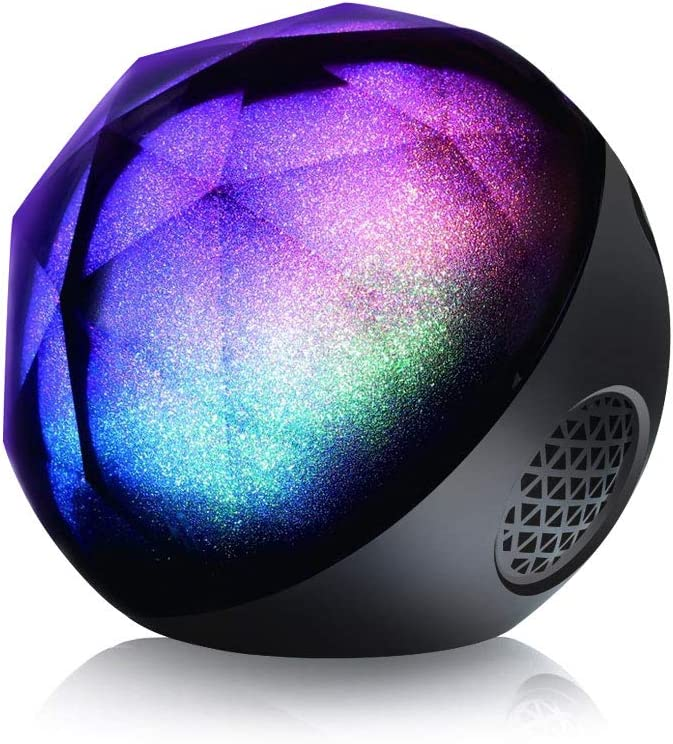 VersionTECH Mini Portable LED Colorful Wireless Loud Stereo Sound Speaker
