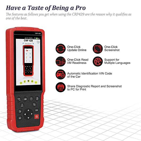 LAUNCH CRP429 is one of the best OBD2 Scanners