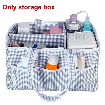 GETIT72 - Organizador de pañales para bebé, Cesta de Almacenamiento portátil para el Coche,