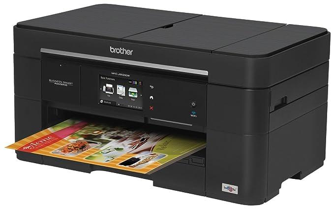 Amazon.com: Brother Printer MFCJ5520DW Wireless All-in-one ...