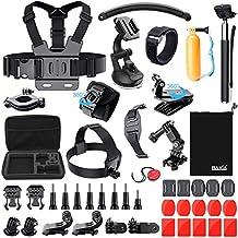 Tecnología de baxia Kit de accesorios para GoPro Hero 43+ 321Cámaras, color negro y plateado