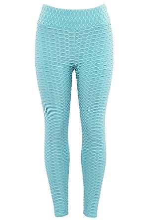 Womens Push Up Cintura Alta Tight Deporte Único Yoga Leggings ...