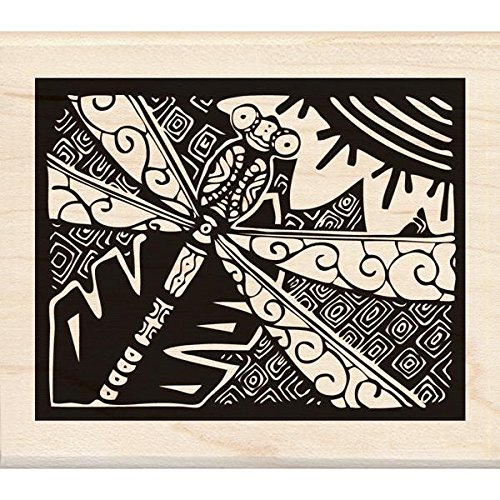 Inkadinkado Wood Stamp, Dragonfly