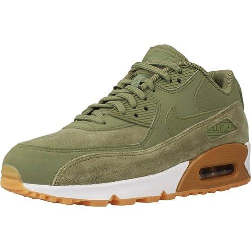 Calzado deportivo para mujer, color Verde , marca NIKE, modelo Calzado Deportivo Para Mujer NIKE AIR MAX 90 SE Verde: Amazon.es: Zapatos y complementos
