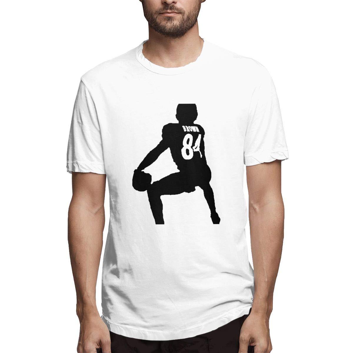 S Short Sleeve Antoniobrownart Crew Neck Tshirt
