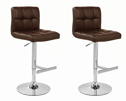 Remarkable Pair Of Allegro Bar Stools Brown By Lamboro Pabps2019 Chair Design Images Pabps2019Com