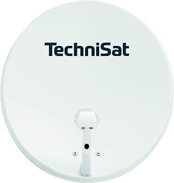 TechniSat TECHNITENNE 60 - Antena Parabólica para 2 Participantes (Sistema de Satélite Digital de 60 cm, Set Completo que Consiste en una Antena con ...