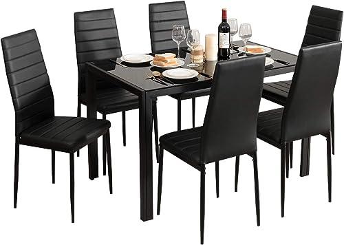 Giantex Kitchen Dining Table Set