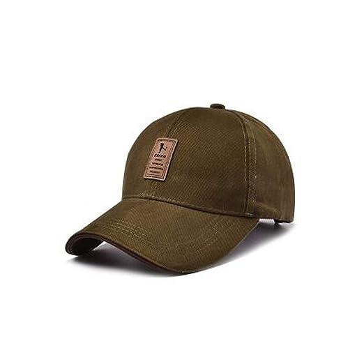 Men Cotton Casual Summer Hats Men Snapback Cap Casquette Bone Gorras Brand Baseball Caps Army Green