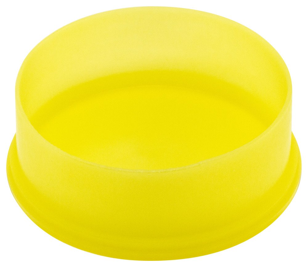 Caplugs QE121AO1 Plastic Utility Plug. To fit thread size 7/8'' E-12, PE-LD, To Fit Thread Size 7/8'', Yellow (Pack of 900)